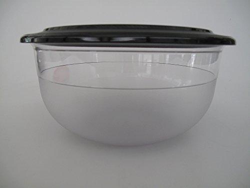 TUPPERWARE Tafelperle 3,5 L Schwarz OHNE RAND Schale Servieren Classic