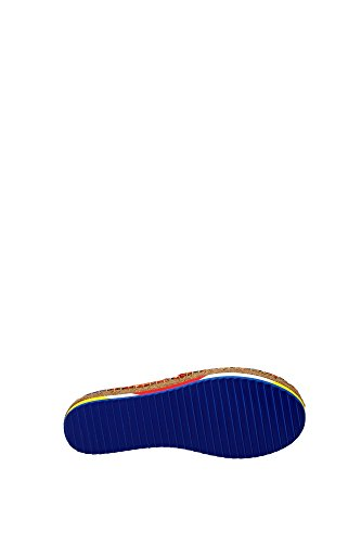CE0011AR16580995 Dolce&Gabbana Espadrilles Femme Tissu Multicouleur Multicouleur