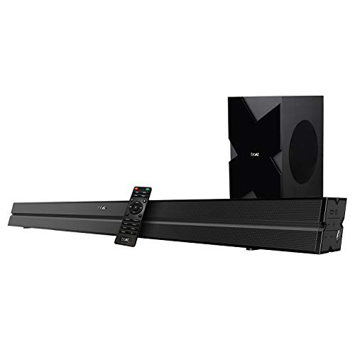 Buy boAt AAVANTE Bar 1500 Wireless Bluetooth Soundbar Speaker with Subwoofer and HDMI ARC (Black) online in India at discounted price