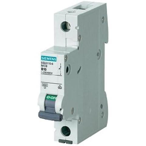Siemens - Interruttore di circuito 1 pin, B 10