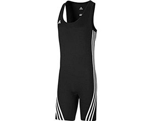 Tenue Halterophilie et Lutte Adidas Basic suit noire par Adidas