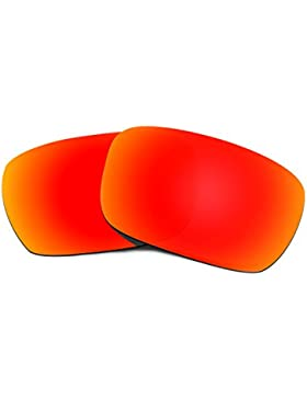 Hkuco Plus Replacement Lenses For Oakley Jury Sunglasses Red Polarized