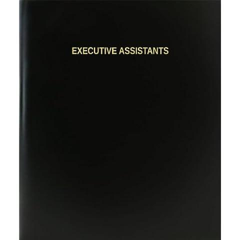 Asistentes BookFactory® Ejecutivo Libro de registro/diario/diario página–120, 8,5