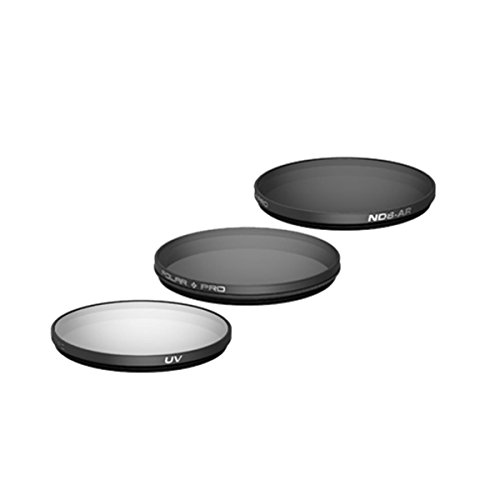 POLAR PRO Filter 3er Set für DJI Zenmuse X5 mit DJI Objektiv