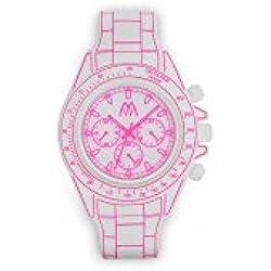 Uhr Marco mavilla digitona weiß und pink dgt01whps