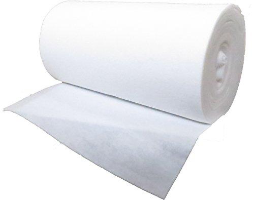Trennvlies 120g/m², 1,02 m breit x 10,00 lang, ca. 3 mm dick, 10,20 m², (EUR 2,44/m²) 100 {ad76164b9d0c6daae4b3c60e9233eeb7973cb15bfa3b4da498109fe550ad8490} Polyester, waschbar, Öko-Tex Standard 100, Produktklasse 1, Meterware, Trennmatte, Drainagevlies, Filtervlies, Filtermatte