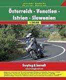 Freytag Berndt Motorradatlas, Österreich -Venetien - Istrien - Slowenien 1:200.000 - Freytag-Berndt und Artaria KG