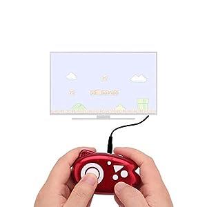HJJH Retro-Spielekonsole, Mini-Griff Retro-Klassik-Videospiel 89 Klassische Spiele, Verbinden mit dem Fernseher, Erleben Sie Kindheitserinnerungen (ohne Batterie)
