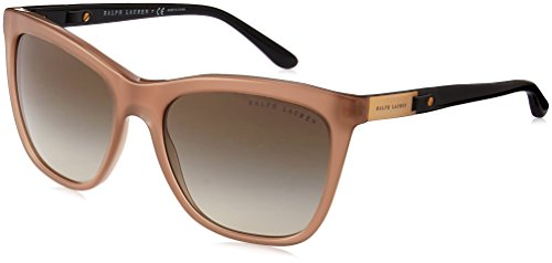 Ralph Lauren Damen 0Rl8151Q 55388E 55 Sonnenbrille, Braun (Taupe/Gradient Green),