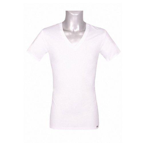 Jockey® Herren, Microfiber V-Shirt, kurzarm, 22311813 Schwarz (999)