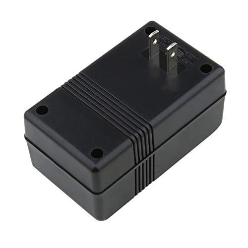 Professioneller 100W maximaler Stromrichter-Adapter 110V / 120V zu 200V / 240V Doppel-Spannungswandler-Adapter schwarz - 110v Spannungswandler Zu 240v