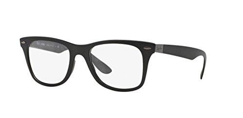 Ray Ban Optical Montures de lunettes RX7034 Pour Homme Matte Black, 50mm 5204: Matte Black