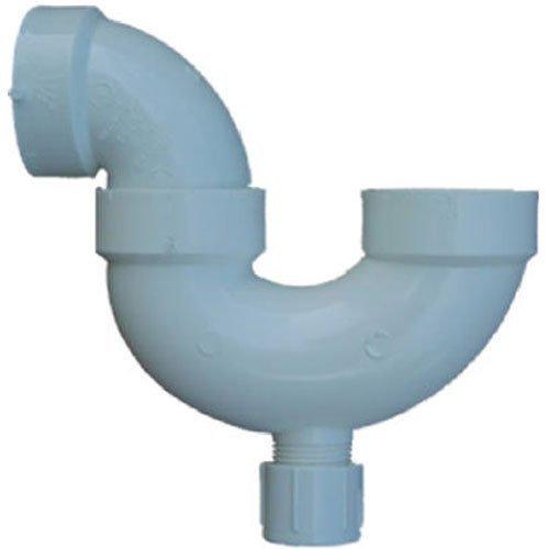 Schedule 40 Pvc-p-trap (GENOVA PRODUCTS - 2-Inch Schedule 40 PVC P-Trap With Cleanout)