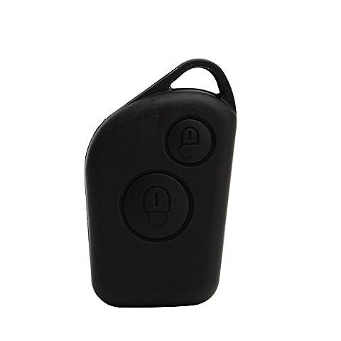 2 Button Keyless Entry Remote Control Car Key Fob Case Shell for Citroen Saxo Xsara Picasso Berlingo