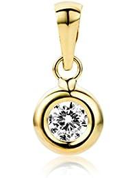 Miore - Pendentif Femme - Or Jaune 375/1000 (9 carats) 0.17 gr