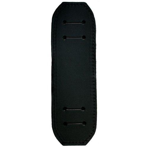Schulterpolster aus schwarzem Leder für DELARA-Aktentaschen
