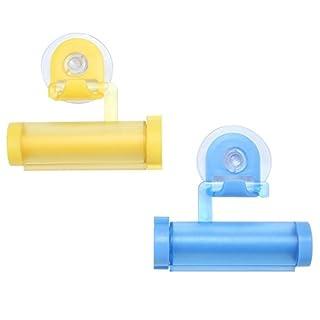 Accmart Bathroom Rolling Toothpaste Squeezer and Hanger Gadget(Random Color)