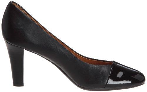 Geox Donna Marian 2 T, Scarpe col tacco donna Nero (Schwarz)