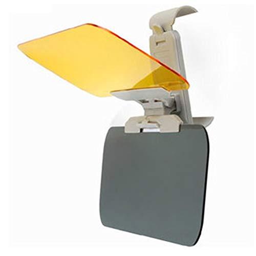 Auto-Sonnenblendeverlängerung, Auto-Windschutzscheibe Tac, Auto Blendschutz HD-Visier-Sonnenblendeverlängerung Sun Blocker Anti-UV-Blendschutz