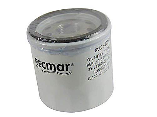 Oil Filter Outboard 25 30 40 50 60 HP Replaces 35-822626Q04 Mercury -