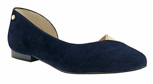 BOSCCOLO BOSCCOLOBaleriny - Ballerine Donna Navy blue-Gold