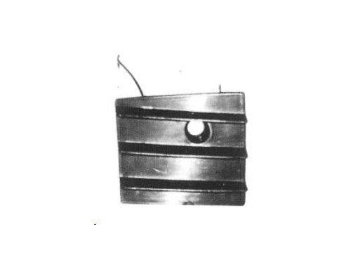Aftermarket FO51267S - GITTER GRILL STOßSTANGE VORNE ABDECKUNG LINKS (Ford Galaxie Grill)