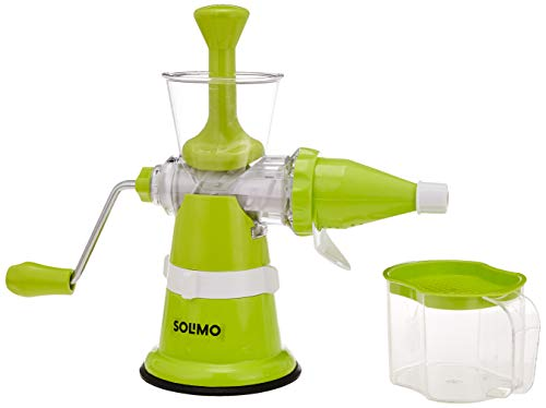 Amazon Brand - Solimo Fruit Juicer (Manual)