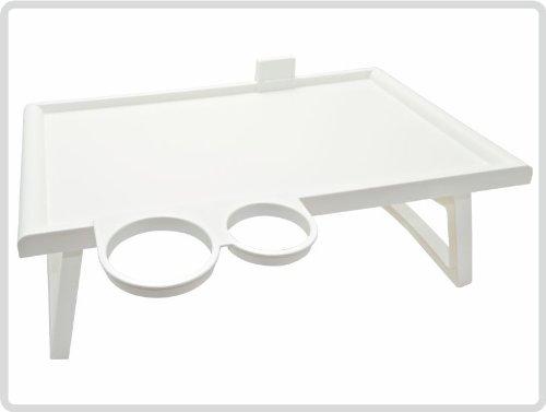 Bett-Tisch, weiß
