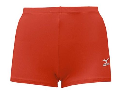 Mizuno Low Rider volleyball courte rouge cardinal