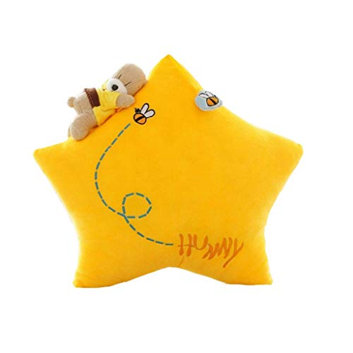 ZAQXSW Cartoon Mond Kissen Puppe Bär Plüsch Spielzeug Kissen Sofa Kissen Nickerchen Kissen Puppe Puppe - Visco-plüsch Matratze