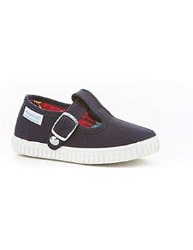 Zapatillas Pepito de Lona para Niños, Angelitos mod.122, Calzado infantil Made in Spain, Garantia de Calidad.