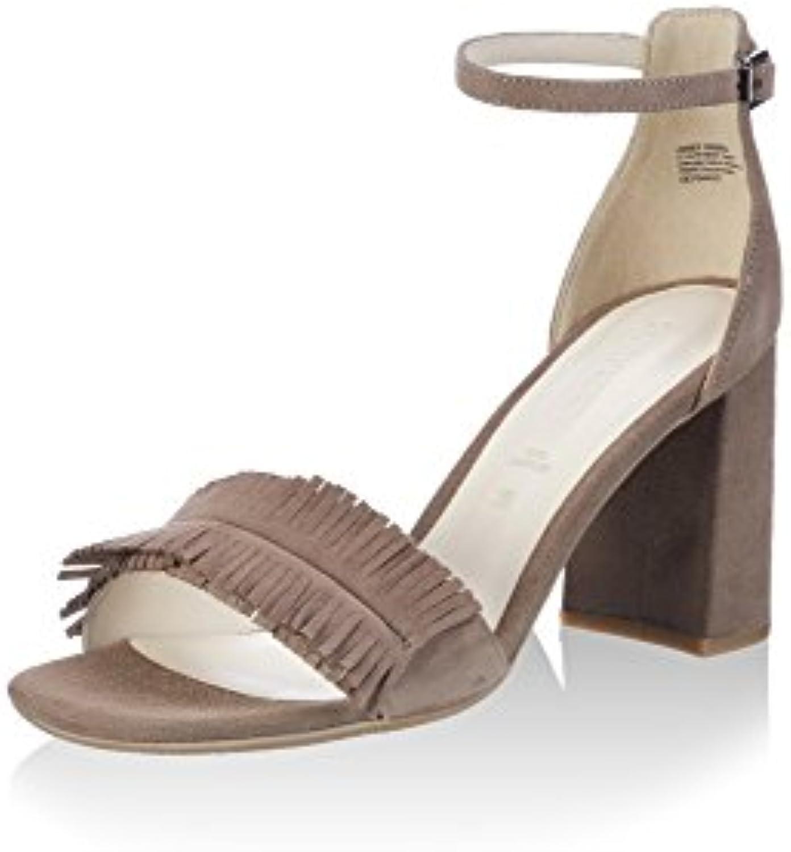 GERRY WEBER Shoes Damen Tatjana 02 Sandalette Lehmbraun 36 EU