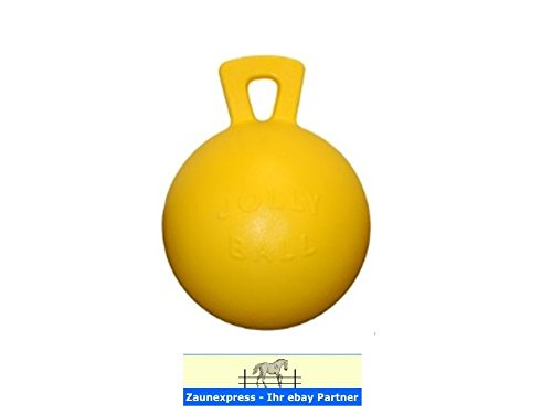 JOLLY Ball Pferd - Gelb mit Bananeduft -