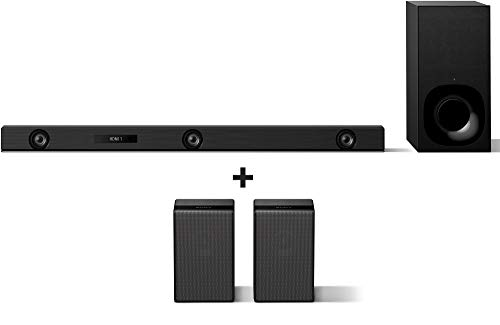 Sony HT-Z9F Cinematic 5.1Ch Soundbar and Wireless Surround Speakers (SA- Z9R) with Dolby Atmos and High Res Sound (Wireless Subwoofer, Bluetooth Connectivity, Built-in Wi-Fi)