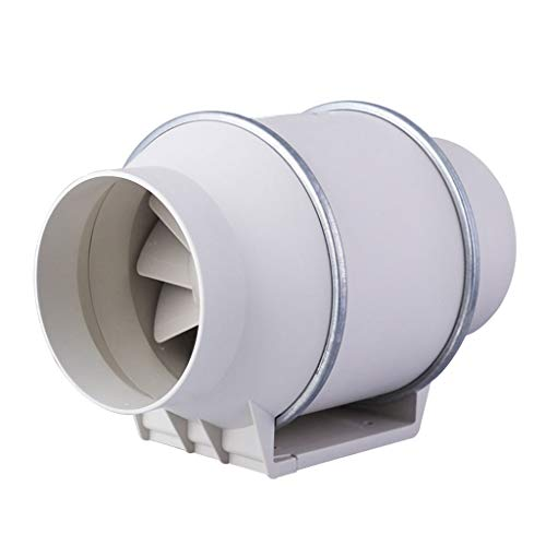Extractor de aire ZHAOSHUNLI Ventilador de Escape Conducto Ventilador 4/5/6/8 Pulgadas Ventilación...