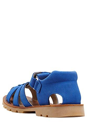 next Sandales En Cuir (Maternelle Garçon) Coupe Standard Bleu