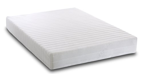 Visco Therapy Memory Foam and Reflex 5 Zone Mattress with Quilted Cover and Pillows - King