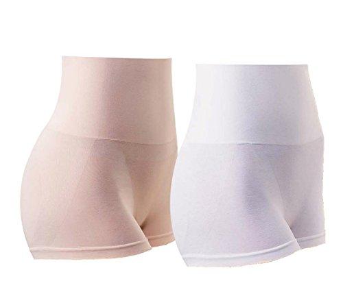 MD Shapewear Body Shaper Mädchen Slip Shaping Underwear Body Shape Unterwäsche Weiß/Nude