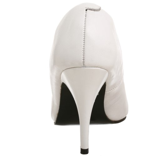 Pleaser - Vanity-420, Scarpe col tacco Donna weiss Leder