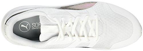 Puma Flexracer Swan, Scarpe da Ginnastica Basse Donna Bianco
