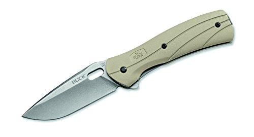 Buck Einhandmesser Einhandmesser Vantage Force Select, Stahl 420HC, Liner Lock, Glasfaser-/Nylonschalen, Edelstahl-Clip, 281311 -