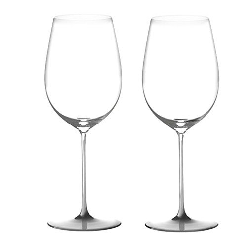 Grand Cru Crystal (Riedel Sommeliers Leaded Crystal Bordeaux Grand Cru Glass, Set of 2 by Riedel)