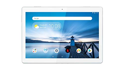 Lenovo Tab M10 25,5 cm (10,1 Zoll FHD IPS Touch) Tablet-PC (Qualcomm Snapdragon 450 Octa-Core, 2 GB RAM, 16 GB eMCP, WLAN, Android Oreo) weiß