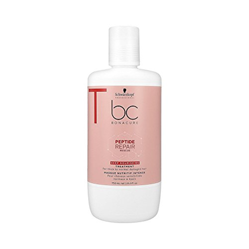 Schwarzkopf Professional BONACURE Peptide Repair Rescue Deep Nourishing Treatment, 750 ml -