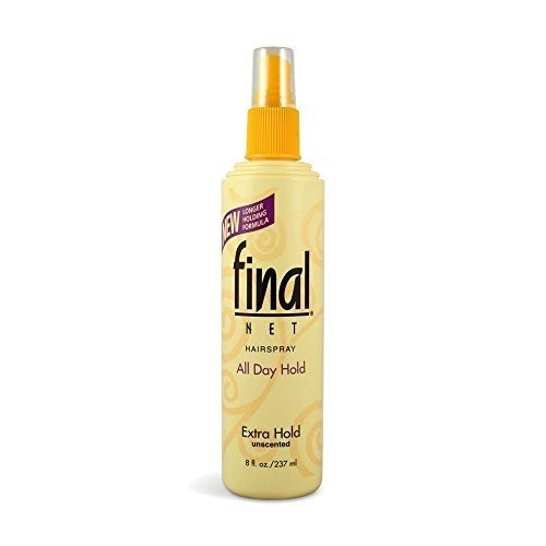 Final Net Laque capillaire - Tenue extra ferme - Non parfumée - 235 ml