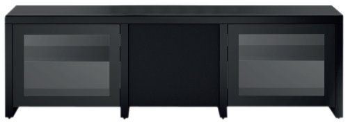 Sonorous Lb1621 Black Ready Assembled Television Cabinet For Tv's Up To 70 Inch