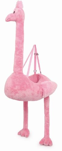 Baby Flamingo Kostüm (Small Foot Company 6337 - Umhänge-Flamingo)