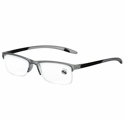 Kimruida Lesebrille Unisex Presbyopic Brillen Full Frame 1.0 + ~ 3.5+ Tragbare Gläser