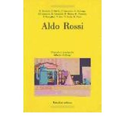 Aldo Rossi (Paperback)(Spanish) - Common