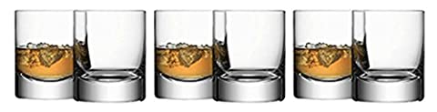 LSA International Bar Tumbler, Clear, 250 ml, Set of 6